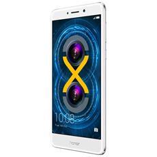 "6X Argento 64 GB 4G/LTE Dual Sim Display 5.5"" Full HD Slot Micro SD Fotocamera 12 Mpx Android Italia"