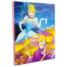 Diario Scuola 10 Mesi 617164 Disney Grafica Raperonzolo E Cenerentola
