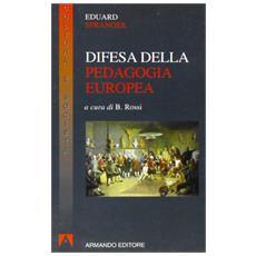 Difesa della pedagogia europea