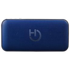HARUM Stereo portable speaker 10W Rettangolo Blu