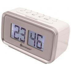 Sveglia e Cronometro Digitale Bianco 1230 V 138 x 65 x 80 mm UR105WE-EU