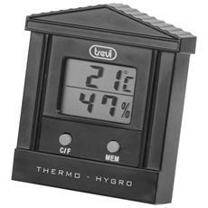 Termometro Digitale Con Igrometro Te 3002 Nero