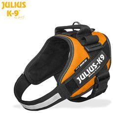 Julius K9 Pettorina Idc Power Harnesses Arancione - Tg 2