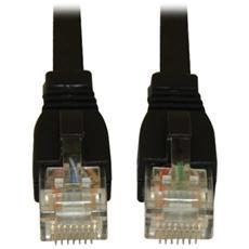Tripp Lite Cat6a, 10ft 3.05m Cat6a U / UTP (UTP) Nero cavo di rete