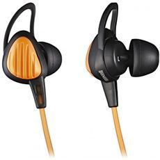 HP-S20, Stereofonico, Arancione, Interno orecchio, Cablato, 60 mW, Ogni marca