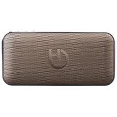 HARUM Stereo portable speaker 10W Rettangolo Oro