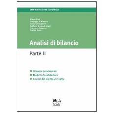 Analisi di bilancio. Vol. 2