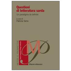 Questioni di letteratura sarda. Un paradigma da definire