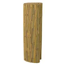 Arella ombreggiante in canne pulite di bamboo 10 mm dimensioni 150 x 300 cm