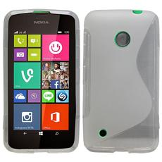Cover Custodia Sline Silicone Tpu - Trasparente - Nokia Lumia 530