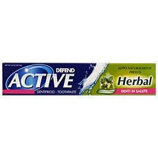 Dentifricio Active Herbal 75 Ml. - Dentifricio