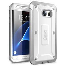 Cover per Galaxy S7 Edge Colore Bianco / Grigio