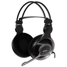 HS-100 Stereofonico Auricolare Nero cuffia e auricolare