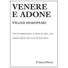 Venere e Adone. Testo inglese a fronte