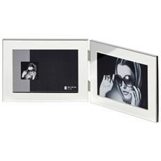 Emily cornice 2x10x15 portafoto doppia argento PP215H