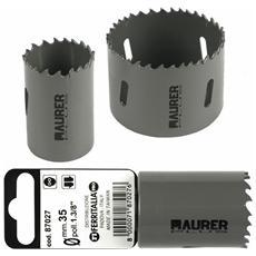 Fresa a Tazza Bimetallica Maurer Plus 140 mm per metalli, legno, alluminio, PVC