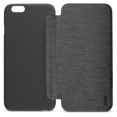 Smartjacket Iphone 7 Black - Custodia Flip Cover Nera