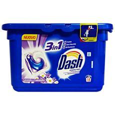 Lavatrice Ecodosi 15 Pezzi 3in1 Con Ammoniaca Lavanda-camomilla Detergenti Casa