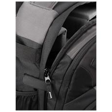LIMA BackPack 400, Zaino, Ogni marca, Nero, Grigio, 270 x 120 x 360 mm
