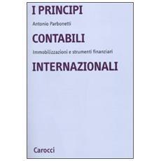 Elementi di ragioneria. I principi contabili internazionali