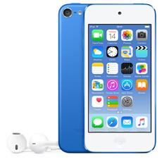"iPod Touch 16GB Display Retina 4"" IPS Multi-Touch Fotocamera 8Mpx con AirPlay iCloud Bluetooth / Wi-Fi Colore Blu"
