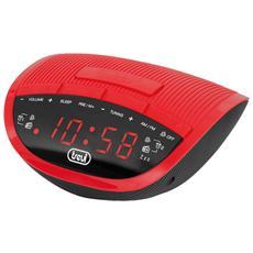 Radiosveglia Elettronica Rc 825 D Rosso