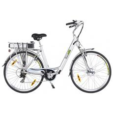 Bicicletta Con Assistenza Elettrica Belair Ii - 36v - Edizione Premium Argento.