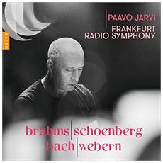 Frankfurt Radio Symphony / Paav - Brahms / Schoenberg / Bach / Webern