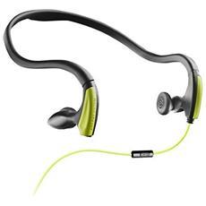 Running One Passanuca Stereofonico Cablato Verde auricolare per telefono cellulare