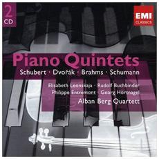 Alban Berg Quartett - Klavierquintette (2 Cd)