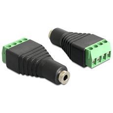 IADAP TB4-AU25F - Adattatore Audio 2.5'' Femmina a Terminal Block 4 pin