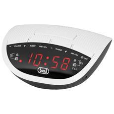 Radiosveglia Elettronica Rc 825 D Bianco