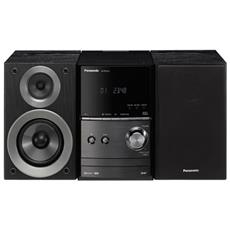 Sistema Micro Hi-Fi SC-PM602 Lettore CD Supporto MP3 Bluetooth USB Potenza 40W