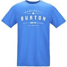 T-shirt Uomo Numeral S Blu Bianco