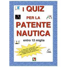 Quiz per la patente nautica entro 12 miglia