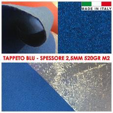 Tappeto Passatoia Magic Blu Con Pellicola Protettiva 1x10mq Battesimo Nuziale Scale Cerimonia