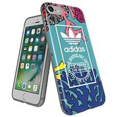 Adidas Originals Soft Cover Logo Print Coral, Fã ¼ R Iphone 8/7, Blister