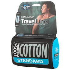 Cotton Liner Standard Rectangular sleeping bag Cotone Blu