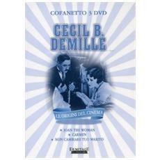 Cecil B. De Mille Cofanetto (3 Dvd)