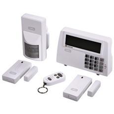 "Kit allarme wireless Xavax ""Feelsafe""2 sensori magnetici, 1 sensore dimovimento, telecomando"