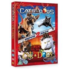 Cats & Dogs 1 & 2 (2 Dvd) [ Edizione: Regno Unito]