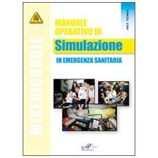 Manuale operativo di simulazione in emergenza sanitaria