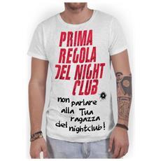 T-shirt Uomo Night Club L Bianco