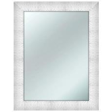 Specchio Da Parete Mirror Prince 64x84 Cm Bianco
