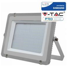 Faretti Led 300w Ip65 Samsung Slimline Grigio Luce Fredda 6400k V Tac Vt-300 489