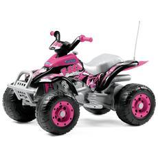 Moto Quad Corral-T-Rex - Rosa 12 Volt