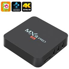 Mxq Pro 4k Ultra Hd Tv Box - Kodi, Android 6.0, 64 Bit Amlogic S905 Quad Core, H. 265 4k Decodifica