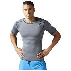 Tshirt Reebok Crossfit Ap5697 Wor Sl Compressiva Nero
