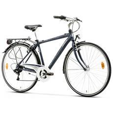 City Bike Trekking Lombardo Mirafiori 250 Uomo 28 Ty21 6v Blu Notte