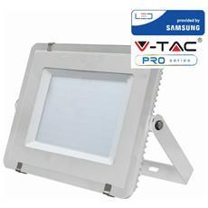 Faretti Led 300w Ip65 Samsung Slimline Bianco Luce Naturale 4000k V Tac Vt-300 486